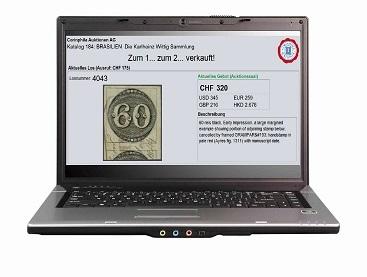 Online Live Bieten Auktionen Briefmarken Münzen Und Ansichtskarten